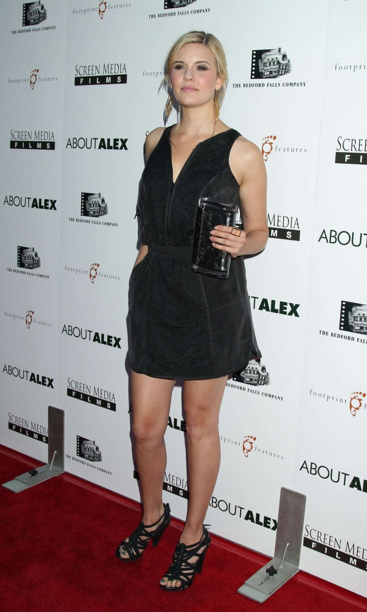 "Maggie Grace - ""About Alex"" premiere in Hollywood"