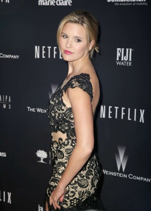 Maggie Grace: 2014 The Weinstein Company and Netflix GG after party -01