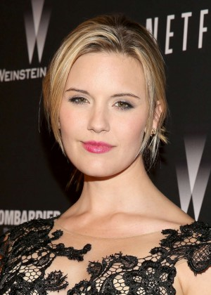 Maggie Grace: 2014 The Weinstein Company and Netflix GG after party -02
