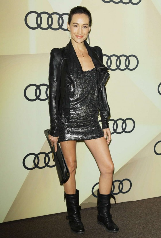 Maggie Q - Audi Golden Globe Kick Off Cocktail Party 2013 in LA
