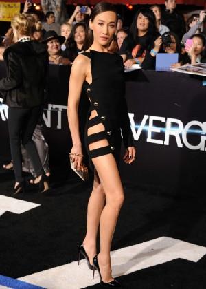 Maggie Q: Divergent Premiere -01