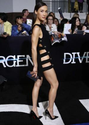 Maggie Q: Divergent Premiere -02