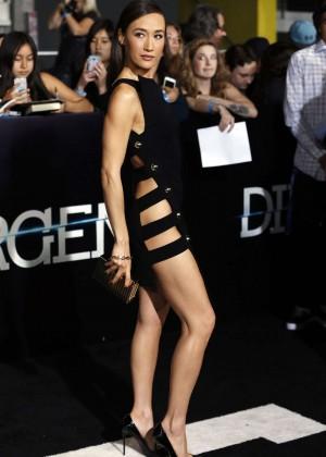 Maggie Q: Divergent Premiere -04