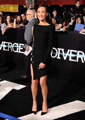 Maggie Q: Divergent Premiere -06