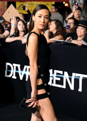 Maggie Q: Divergent Premiere -07