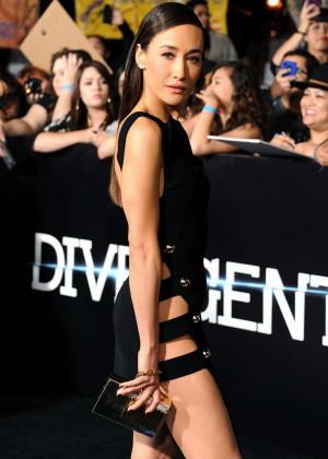 Maggie Q: Divergent Premiere -08