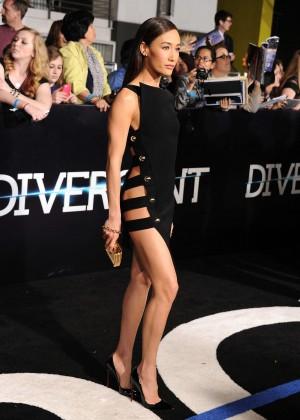 Maggie Q: Divergent Premiere -09
