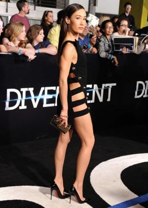 Maggie Q: Divergent Premiere -10