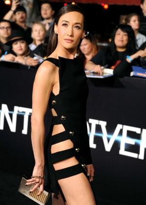 Maggie Q: Divergent Premiere -11