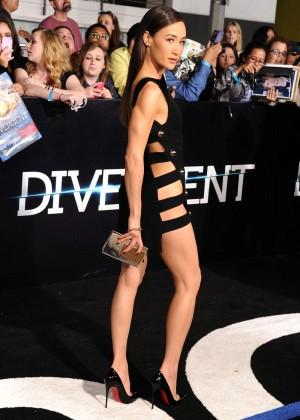 Maggie Q: Divergent Premiere -13