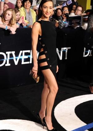 Maggie Q: Divergent Premiere -14