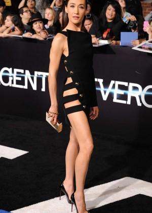 Maggie Q: Divergent Premiere -16