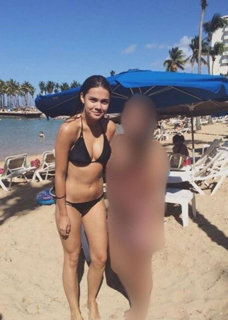 Maia Mitchell Bikini
