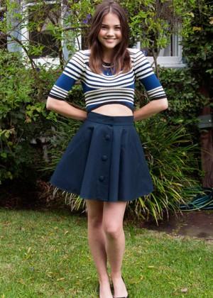 Maia Mitchell: Teen Vogue Magazine -03