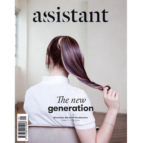 Maisie Williams - Assistant Magazine (October 2014)