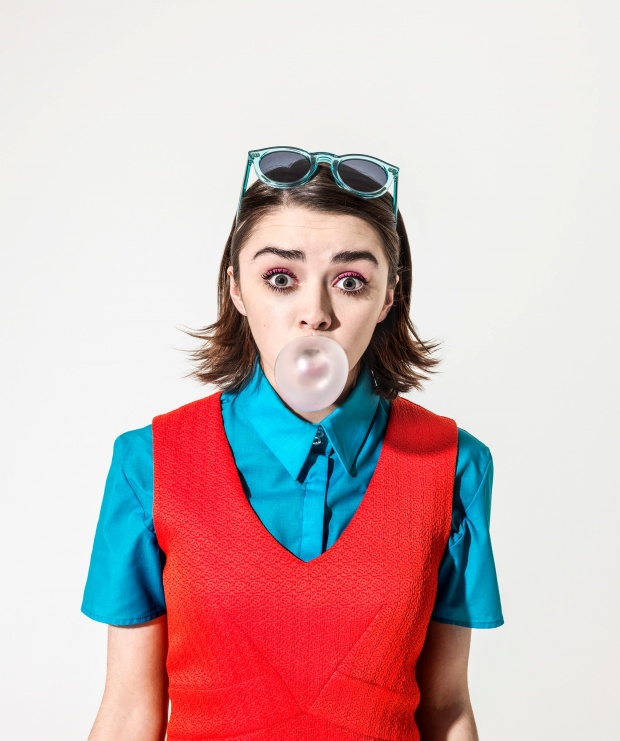 Maisie Williams - The Guardian Photoshoot (December 2014)