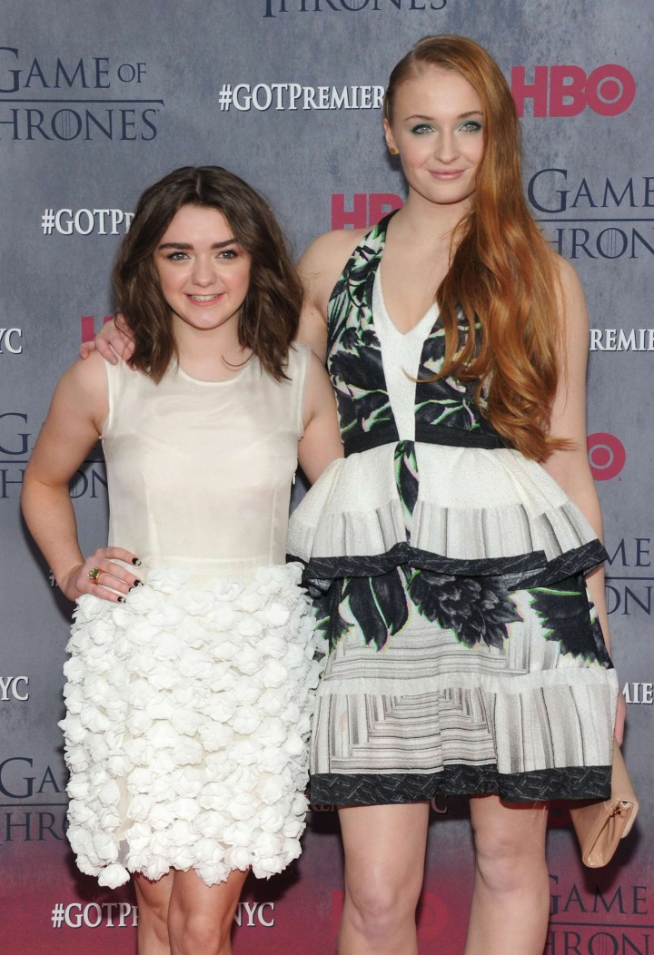 Maisie Williams: Game of Thrones NY Premiere -06