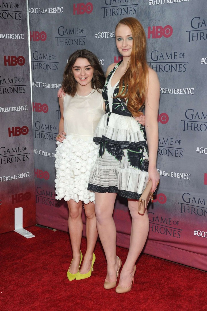 Maisie Williams: Game of Thrones NY Premiere -09