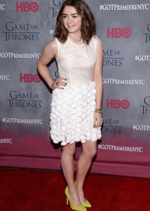 Maisie Williams: Game of Thrones NY Premiere -12