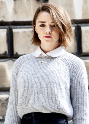 Maisie Williams - London Film Festival Magazine 2014