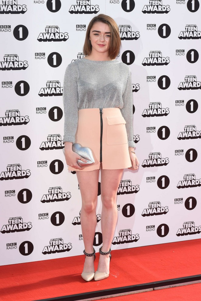 Maisie Williams - 2014 Radio One Teen Awards in London