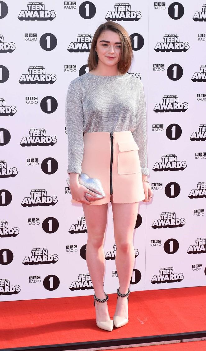 Maisie Williams: 2014 Radio One Teen Awards -03