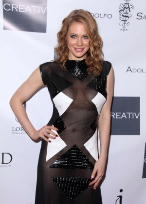 Maitland Ward - Adolfo Sanchez Fashion Show in West Hollywood