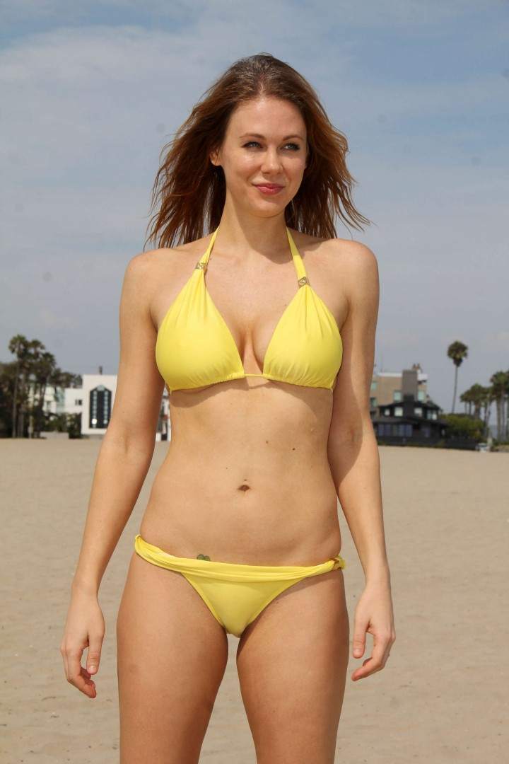 back to post maitland ward bikini photoshoot at a beach in marina