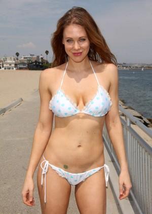 Maitland Ward in White Bikini -13