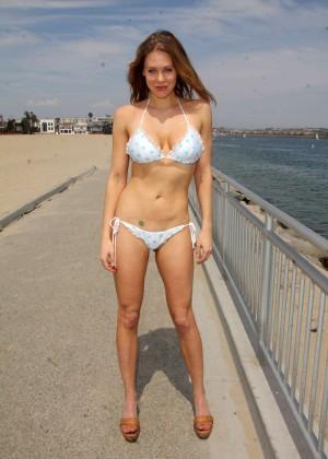 Maitland Ward in White Bikini -18