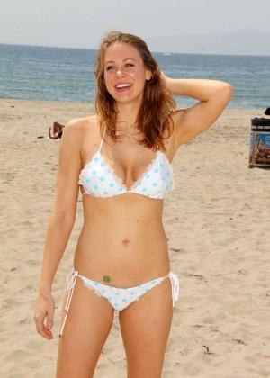 Maitland Ward in White Bikini -21