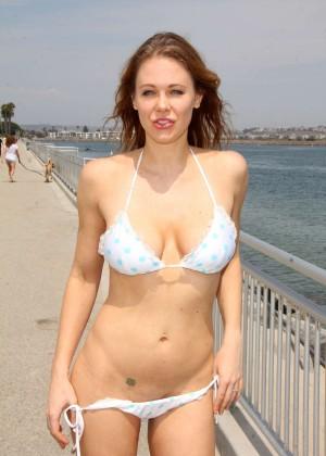 Maitland Ward in White Bikini -26