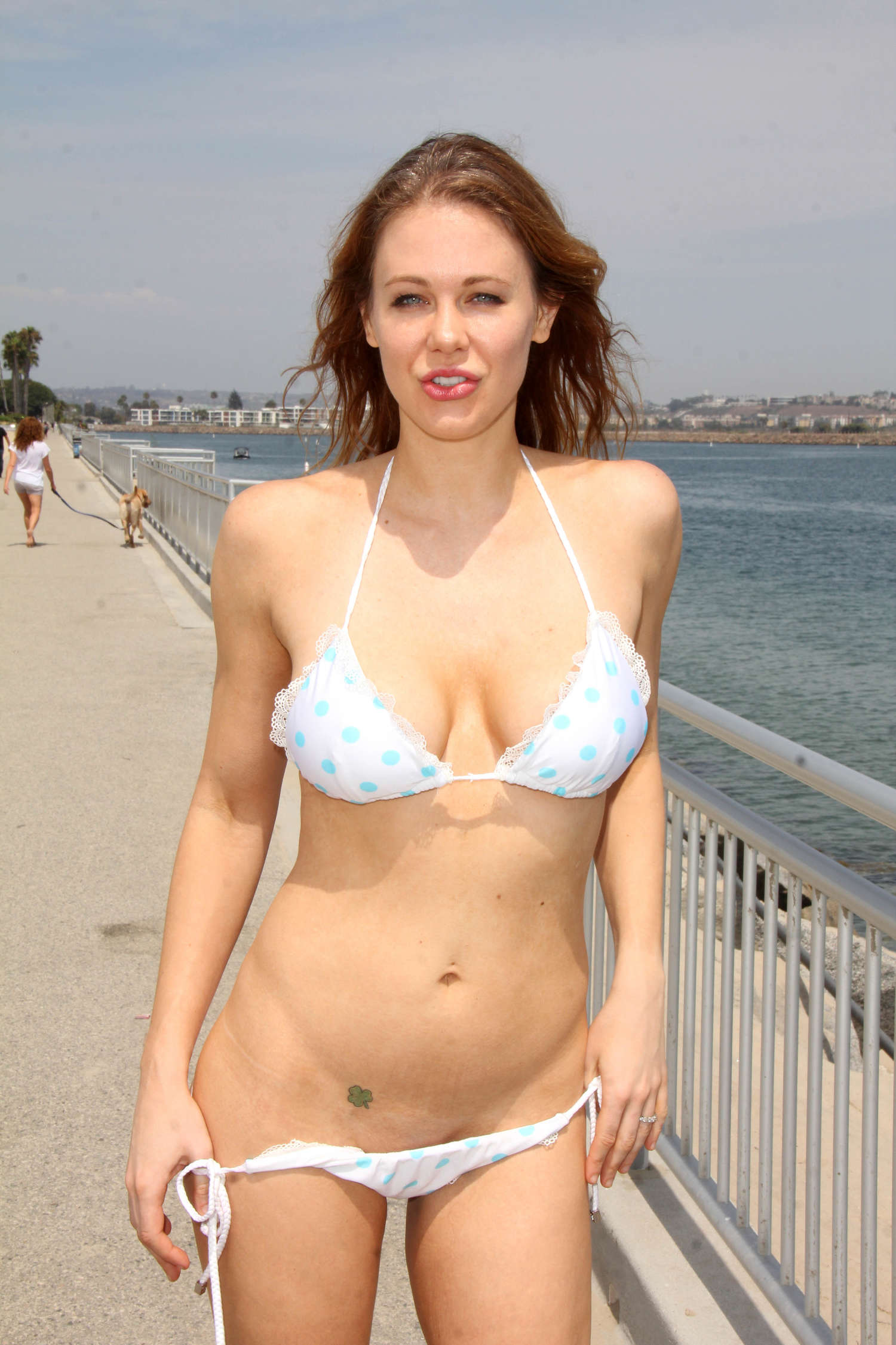 Maitland Ward In White Bikini -26  Gotceleb-5282