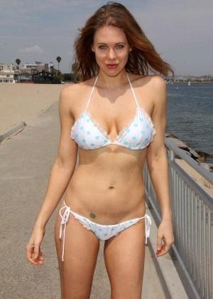 Maitland Ward in White Bikini -31