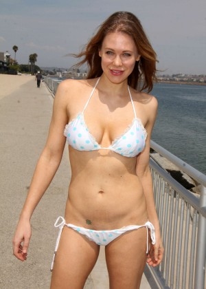Maitland Ward in White Bikini -35