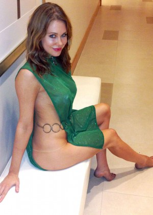 Maitland Ward - dressed up as Jessica 6 at Comic-Con in San Diego