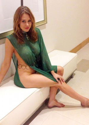 Maitland Ward - dressed up as Jessica 6 at Comic-Con in San Diego -04