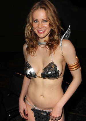 "Maitland Ward - ""Red Sonja"" costume fitting in Long Beach"