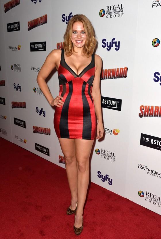 Maitland Ward – Sharknado premiere in Los Angeles -04