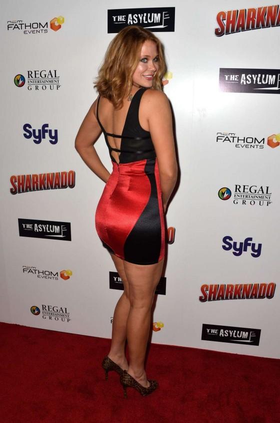Maitland Ward – Sharknado premiere in Los Angeles -13