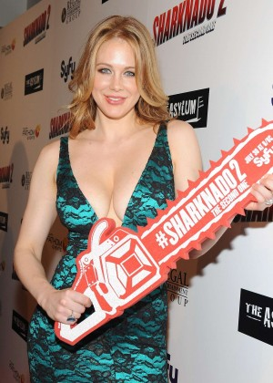 Maitland Ward - The Asylum & Sharknado 2 The Second One premiere in LA