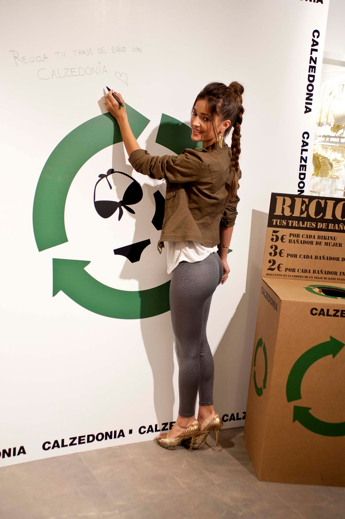 MALENA COSTA     Calzedonia Recycled Campaign-03 - Full SizeMalena Costa Recycle
