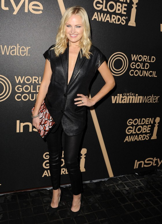 Malin Akerman - InStyle Miss Golden Globe Party in LA