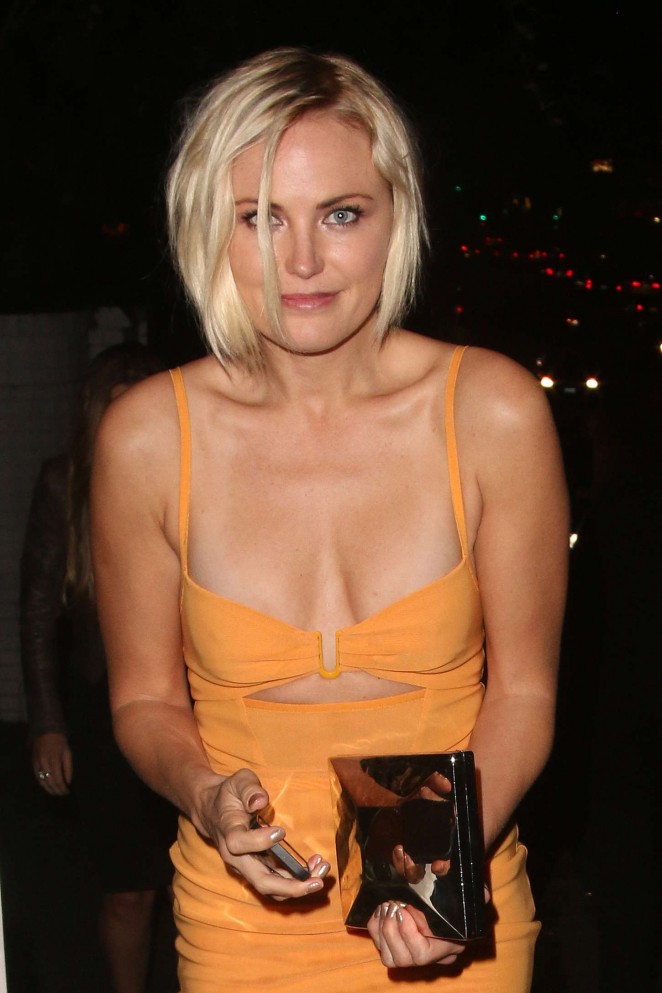 Malin Akerman - Leaving the Chateau Marmont in West Hollywood