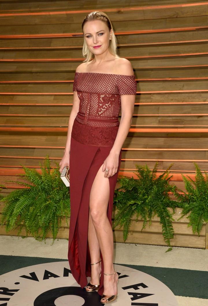 Malin Akerman: Oscar 2014 - Vanity Fair Party -01