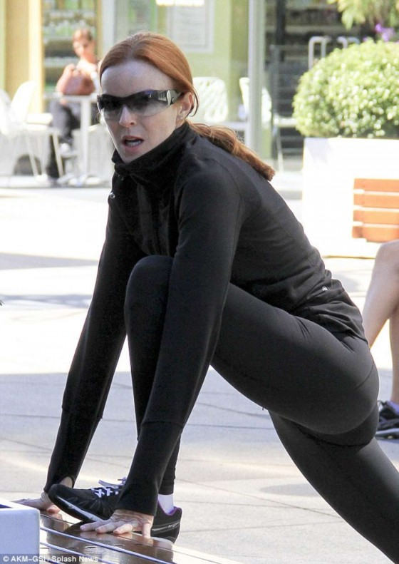 Marcia Cross - in tight pants
