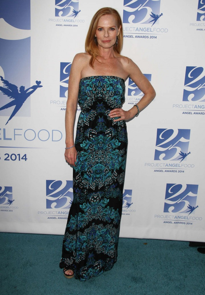 Marg Helgenberger at The Angel Awards 2014 in Los Angeles