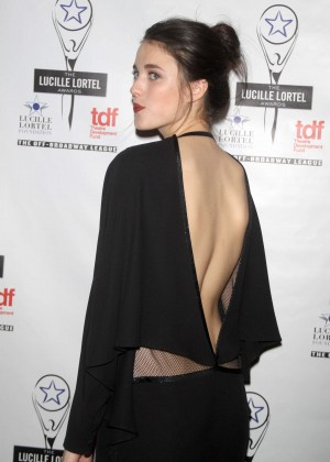 Margaret Qualley - 29th Annual Lucille Lortel Awards in NYC-01