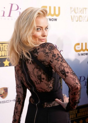 Margot Robbie - 19th Annual Critics Choice Movie Awards -10