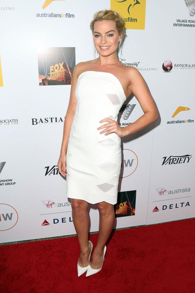 Margot Robbie: 2014 Australians In Film Awards Benefit Gala -07